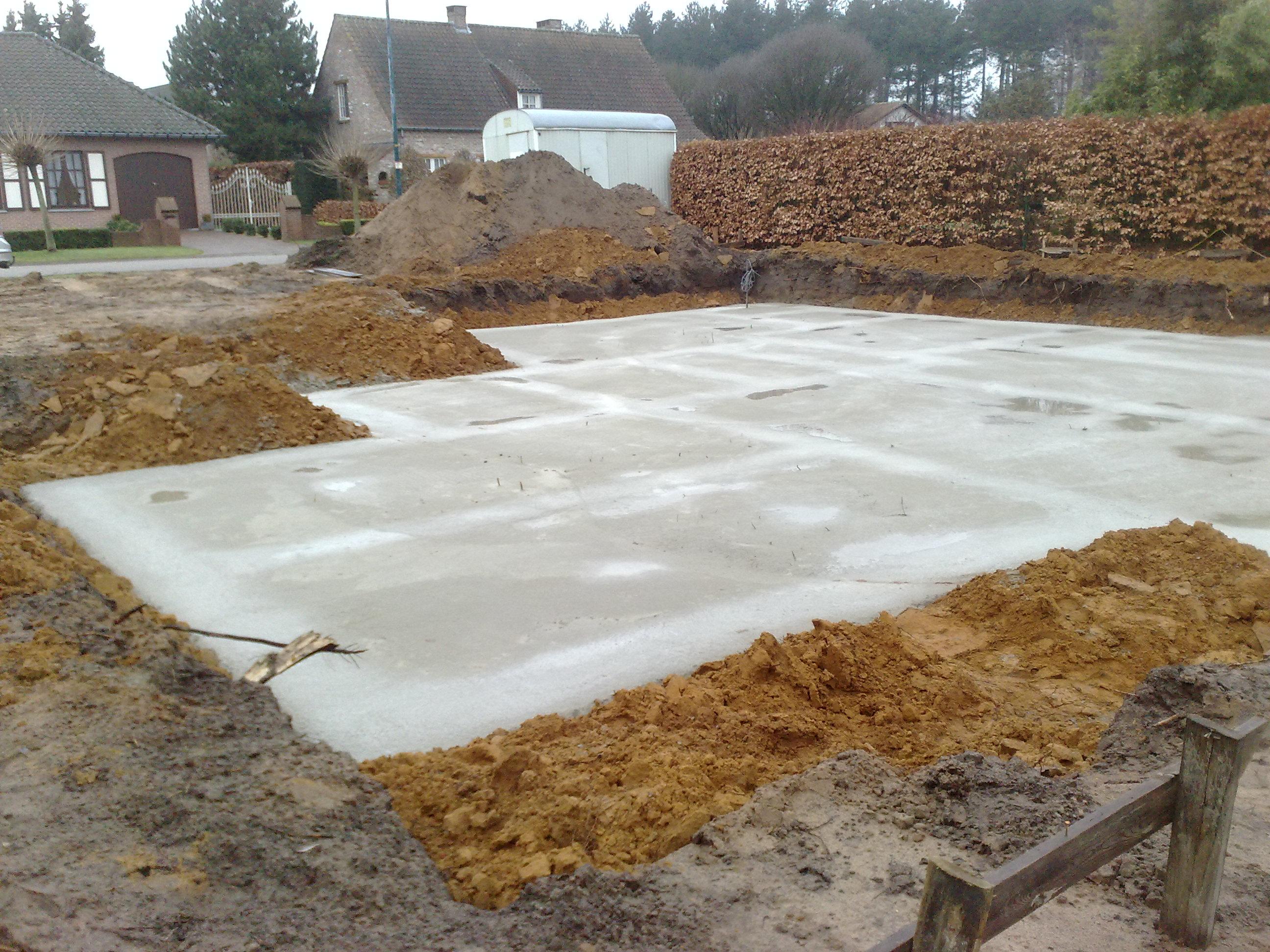 Uitgraven kruipkelder ons bouwavontuur - Badkamer recup ...